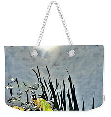 Lily Pad Reflection Weekender Tote Bag