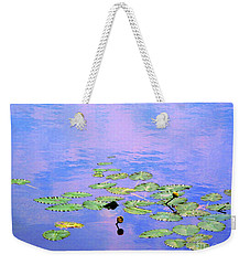 Laying Low Like A Lily Pond  Weekender Tote Bag