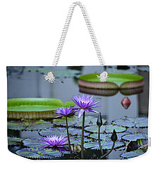 Lily Pond Wonders Weekender Tote Bag