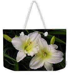 Lily Twins Weekender Tote Bag