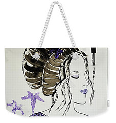 Lily's Dream Weekender Tote Bag by Jasna Gopic