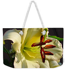 Lily's Morning Weekender Tote Bag