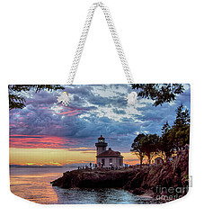Lime Kiln Lighthouse Weekender Tote Bag