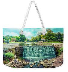 Lime Kiln Park Waterfall Weekender Tote Bag