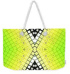 Weekender Tote Bag featuring the digital art Limelight by Shawna Rowe