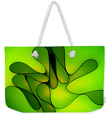 Weekender Tote Bag featuring the photograph Limelight by Trena Mara