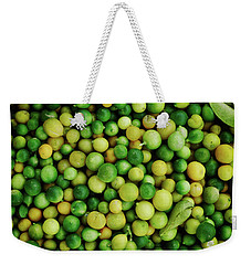 Limes Weekender Tote Bag by Happy Home Artistry