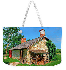 Limestone Belgian Summer Kitchen Weekender Tote Bag