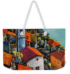 Limone Del Garda Weekender Tote Bag by Mikhail Zarovny