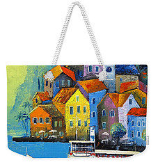 Limone Weekender Tote Bag by Mikhail Zarovny