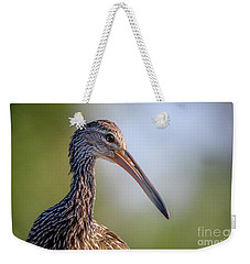 Limpkin Portrait Weekender Tote Bag