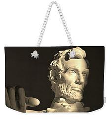 Lincoln At Sunrise Weekender Tote Bag