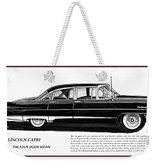 Lincoln Capri 1956 Weekender Tote Bag by Jack Pumphrey