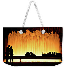 Lincoln Center Fountain Weekender Tote Bag