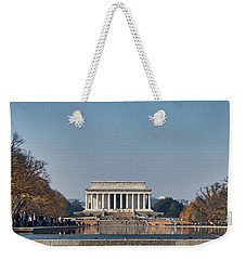 Lincoln From Afar Weekender Tote Bag