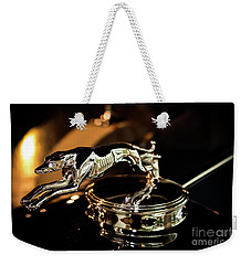 Lincoln Greyhound Hood Ornament Weekender Tote Bag