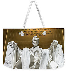 Lincoln Memorial 2 Weekender Tote Bag