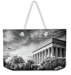 Lincoln Memorial Weekender Tote Bag by Paul Seymour