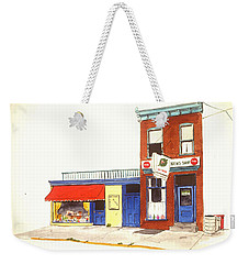 Lincoln News Weekender Tote Bag