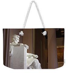 Lincoln Side View Weekender Tote Bag