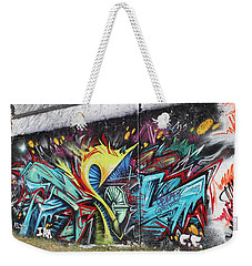 Weekender Tote Bag featuring the painting Lincoln Street by Sheila Mcdonald
