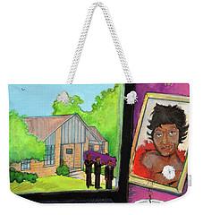 Linda Weekender Tote Bag