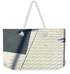 Line And Shadow Weekender Tote Bag