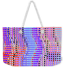 Line Dancers					 Weekender Tote Bag by Ann Johndro-Collins