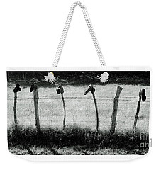 Line Dancing Weekender Tote Bag by Joe Jake Pratt