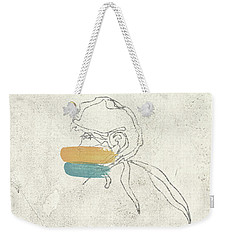 Line Profile On Conrete Weekender Tote Bag