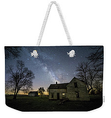 Linear Weekender Tote Bag by Aaron J Groen