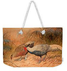Lineated Kaleege Weekender Tote Bag