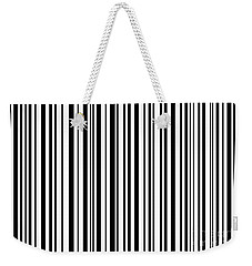 Weekender Tote Bag featuring the digital art Lines 7 by Bruce Stanfield