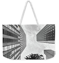 Lines All The Way Up Weekender Tote Bag by Lora Lee Chapman