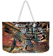Lines And Colors Weekender Tote Bag