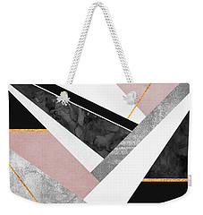 Lines And Layers Weekender Tote Bag