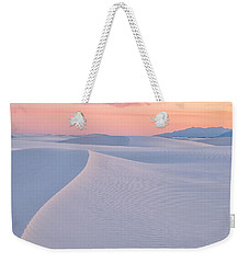 Weekender Tote Bag featuring the photograph Lines In The Sand by Patricia Davidson