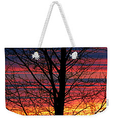 Lines Weekender Tote Bag by Janice Westerberg