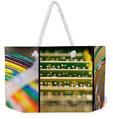 Lines Of Communication Weekender Tote Bag