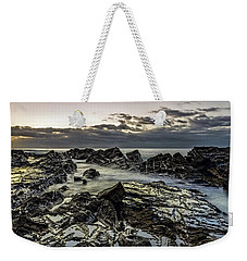 Lines Of Time Weekender Tote Bag by Mark Lucey