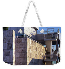Weekender Tote Bag featuring the photograph Lines, Shadows And Textures by Samuel M Purvis III