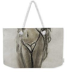 Lingerie Elegance Weekender Tote Bag