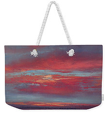 Lingering Heat Weekender Tote Bag by Valerie Travers