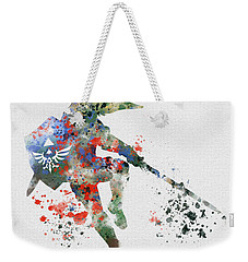 Link Weekender Tote Bag by Rebecca Jenkins