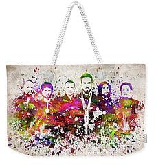 Linkin Park In Color Weekender Tote Bag