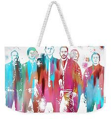 Linkin Park Watercolor Paint Splatter Weekender Tote Bag