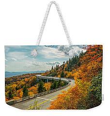 Linn Cove Viaduct Weekender Tote Bag