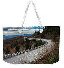 Linn Cove Viaduct Late Fall Weekender Tote Bag