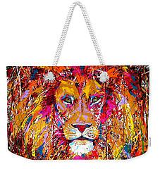 Lion 4 Weekender Tote Bag