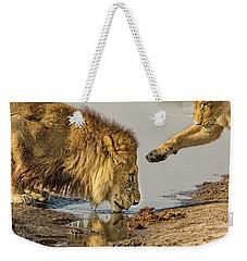 Lion Affection Weekender Tote Bag